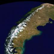 Blue Marble: The Andes, South America